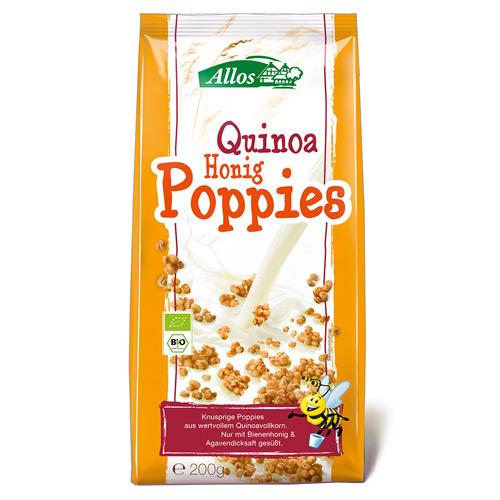 Image of Allos Quinoa Honning Poppies Ø - 200 G