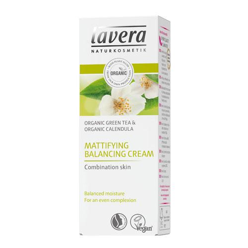 Billede af Lavera Faces matterende balancing creme til blandet hud System Faces - 50 ml