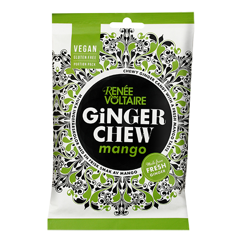 Image of   Renée Voltaire Ginger Chew Mango - 120 G
