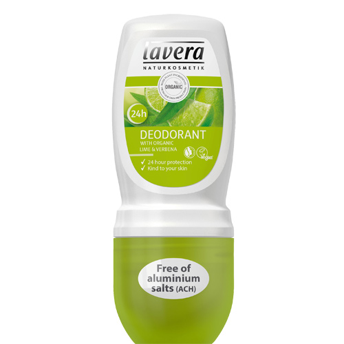 Image of   Lavera Deo Roll-On Lime & Verbena Body & Wellness Care - 50 ml