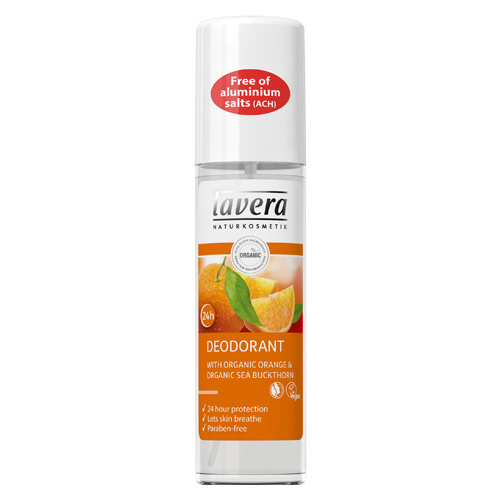 Image of   Lavera Deo Spray Orange Feeling Body & Wellness Care - 75 ml
