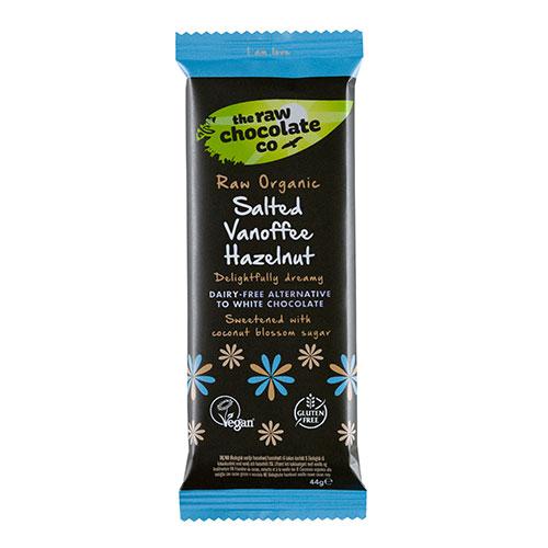 Image of   The Raw Chocolate Company Vanoffe Salted Hazelnut Ø - 44 G