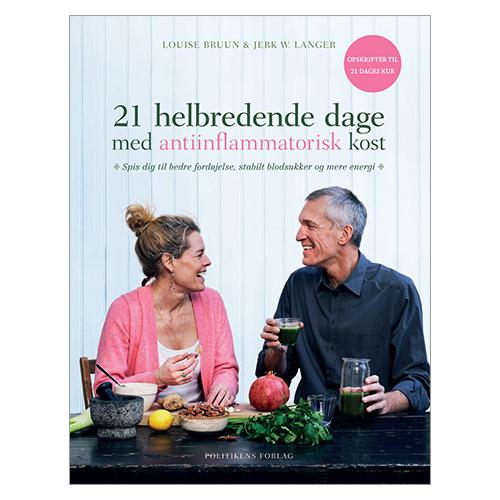Image of   21 helbredende dage med antiinflammatorisk kost BOG Forf. Bruun & Langer - 1 stk