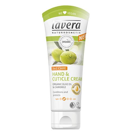 Billede af Hånd- og neglebåndscreme Lavera - 75 ml