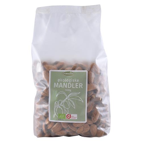 Spis Økologisk mandler fra Mecindo