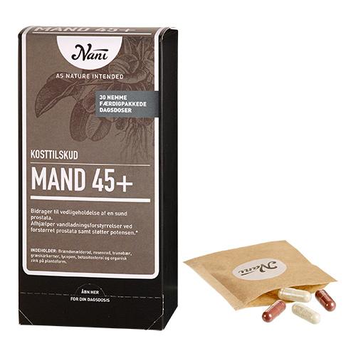 Billede af Nani Mand 45+ helsepakke - 30 Brev