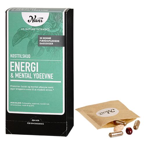 Billede af Nani Energi/mental ydeevne helsepakke - 30 Brev