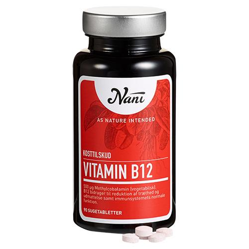 Billede af Nani B12 vitamin - 90 Tabl