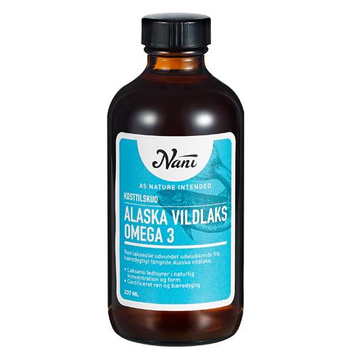 Billede af Nani Omega 3 alaska vildlaks - 237 ml
