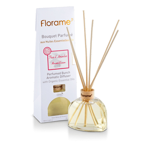Image of   Florame Aromatic Diffuser Almond Flower - 80 ml