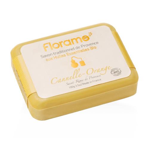 Image of   Florame Håndsæbe Cinnamom-Orange fra Provence - 100 G