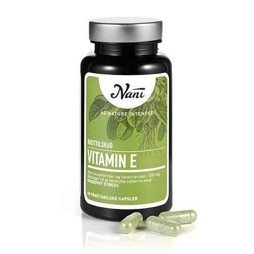 Billede af Nani E-vitamin Food State - 60 Kaps