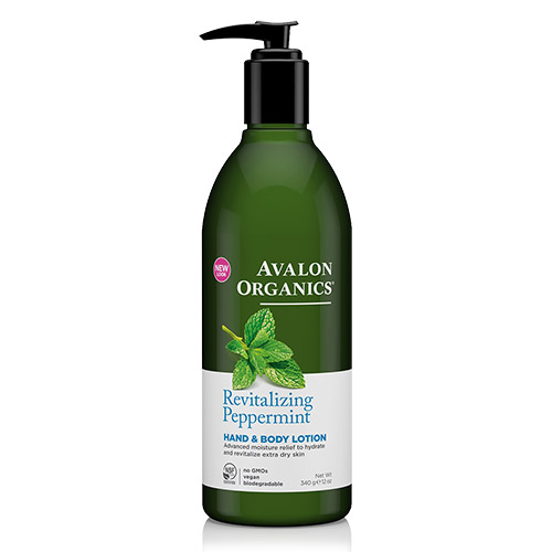 Image of Avalon Organics Hand & Bodylotion Peppermint Revitalizing - 340 G