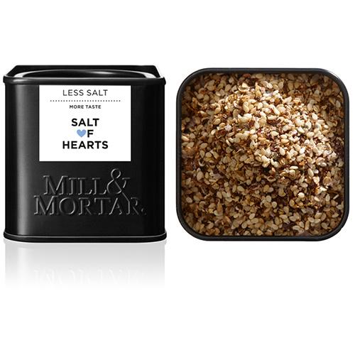Billede af Mill & Mortar Salt of Hearts Ø - 60 G