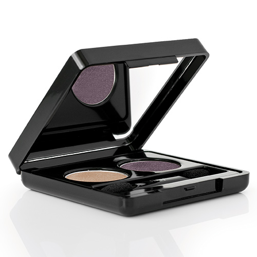 Billede af Nvey Eco Eye shadow duos Purple Gold 152-171 - 3 G