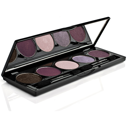 Billede af Nvey Eco Eye shadow palette nr. 7 Black Rock Plum - 7 G