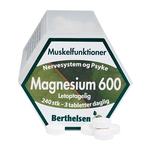 Berthelsen magnesium fra Mecindo