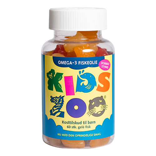 Kids Zoo Omega 3 - 60 Tabl