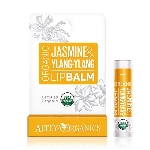Image of Alteya Organics Lipbalm Jasmine & Ylang Ylang - 5 G