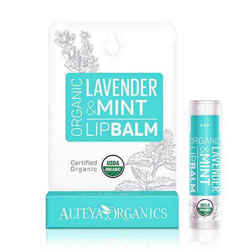 Image of Alteya Organics Lipbalm Lavender Mint - 5 G