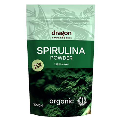 Dragon Superfoods spirulina fra Mecindo
