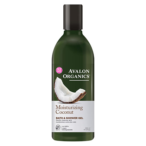 Image of Avalon Organics Bath & Shower Gel Coconut Moisturizing - 350 ml