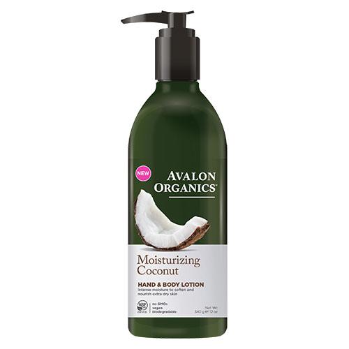 Image of Avalon Organics Hand & Body Lotion Coconut Moisturizing - 340 G