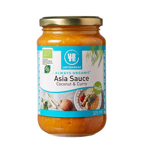 Image of   Urtekram Asia sauce kokos & karry Ø - 325 ml