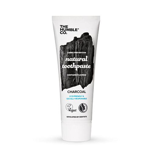 Image of   The Humble Co. Tandpasta Charcoal u. flour - 75 ml