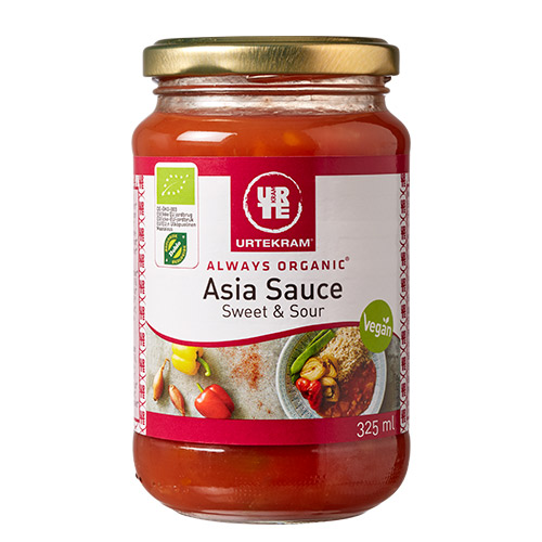Image of   Urtekram Asia sauce sur & sød Ø - 325 ml