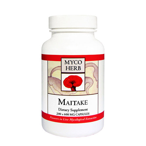 Image of   MycoHerb Maitake - 200 Kaps