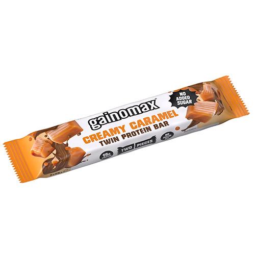Image of   Gainomax Proteinbar Creamy Caramel Twin - 50 G