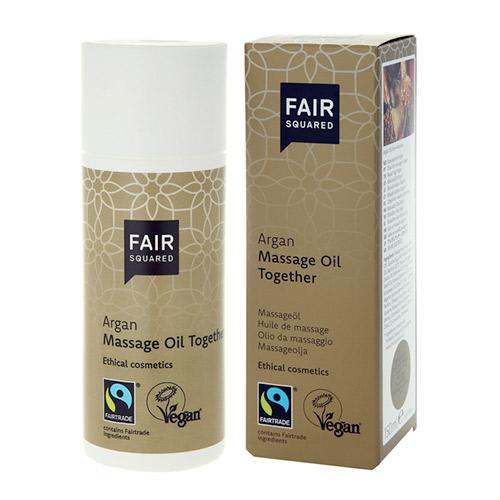 Image of   Fair Squared Massageolie Argan - 1 ml