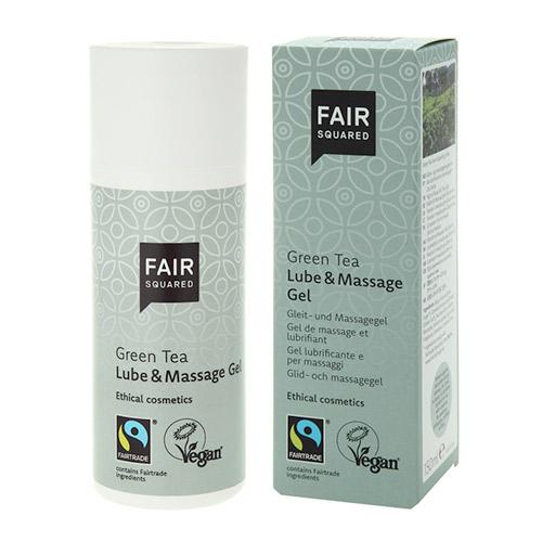 Image of   Fair Squared Glidecreme og massage gel med Grøn Tea - 150 ml