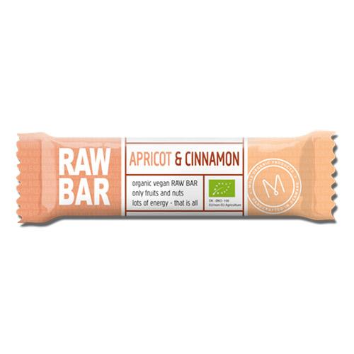 Billede af Mols Organic Raw Bar Apricot & Cinnamon Ø - 45 G
