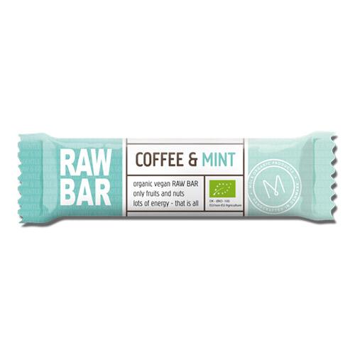 Billede af Mols Organic Raw Bar Coffee & Mint Ø - 45 G