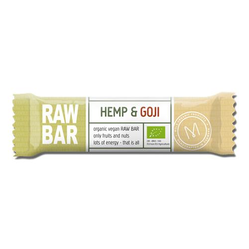 Billede af Mols Organic Raw Bar Hemp & Goji Ø - 45 G