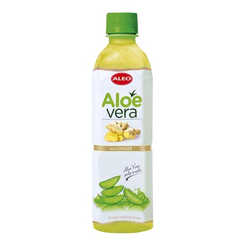 Image of ALEO Aloe Vera Ginger - 500 ml