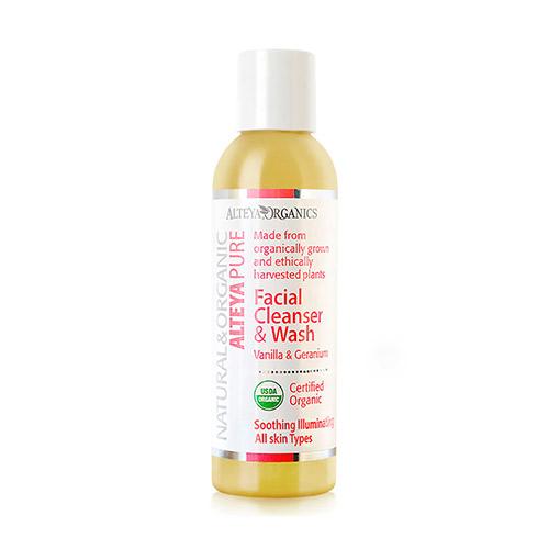 Image of Alteya Organics Facial Cleanser Vanilla og Geranium - 150 ml