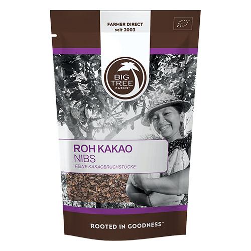 Big Tree Farms kakao nibs fra Mecindo