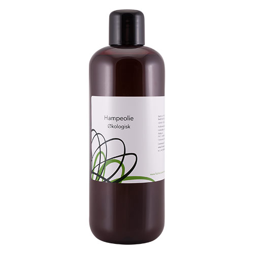 Image of   Fischer Pure Nature Hampeolie øko - 500 ml