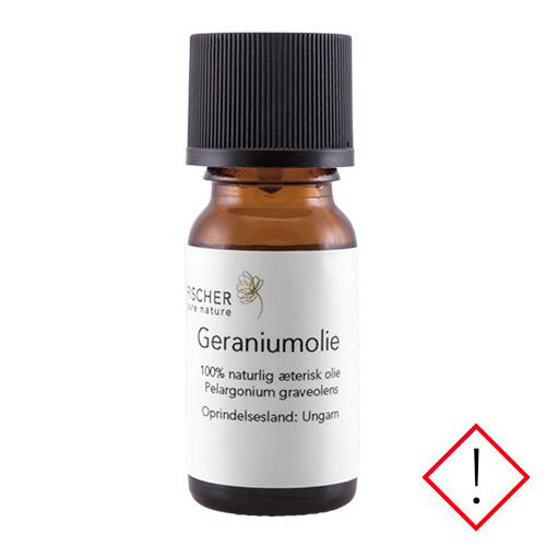 Image of   Fischer Pure Nature Geraniumolie æterisk - 10 ml