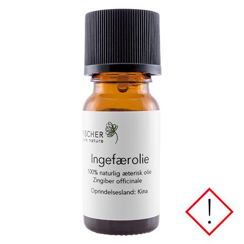 Image of   Fischer Pure Nature Ingefærolie æterisk - 10 ml