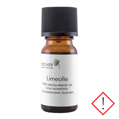 Image of   Fischer Pure Nature Limeolie æteisk - 10 ml