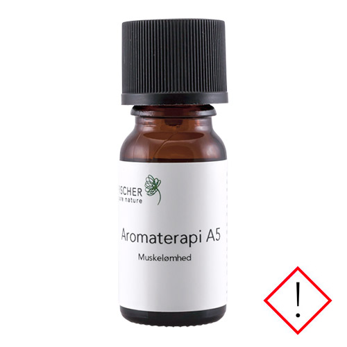 Image of   Fischer Pure Nature A5 Muskelømhed Aromaterapi - 10 ml