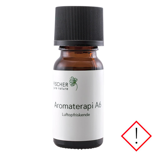Image of   Fischer Pure Nature A6 Luftopfriskende Aromaterapi - 10 ml