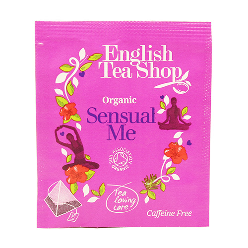 Image of   English Tea Shop Sensual Me Tea Ø 50 Breve - 1 Pakk