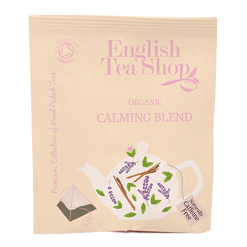 Image of   English Tea Shop Calming Blend Tea Ø 50 Breve - 1 Pakk