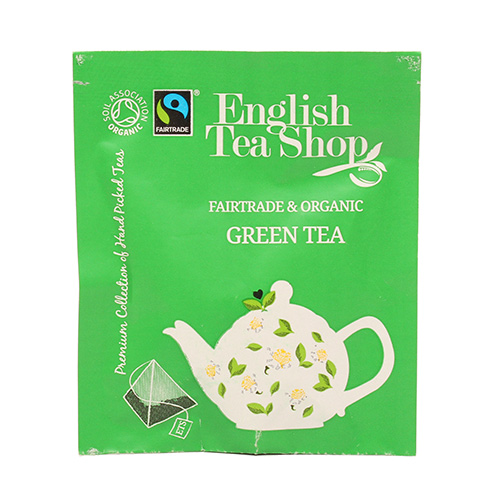 Image of   English Tea Shop Green Tea Ø 50 Breve - 1 Pakk