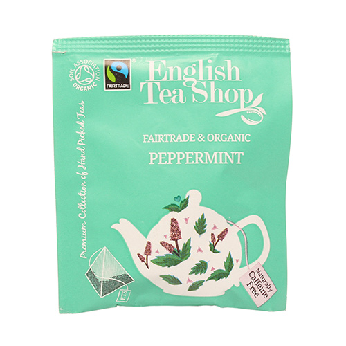 Image of   English Tea Shop Peppermint Tea Ø 50 Breve - 1 Pakk